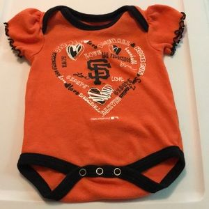 Other - Infant SF Giants Onsie